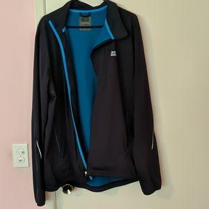 Jack Wolfskin Light Windjacket Men's Size XXL Blue